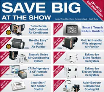 Dometic Boat Show Season Discounts